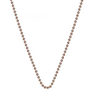 Stříbrný řetízek Hot Diamonds Emozioni Bead Rose 61 CH052