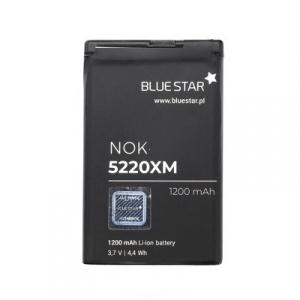 Baterie BlueStar Nokia 6303, 5220, 5630, 6730, C3, C5-00, C6-01, 3720 BL-5CT  1200mAh Li-ion