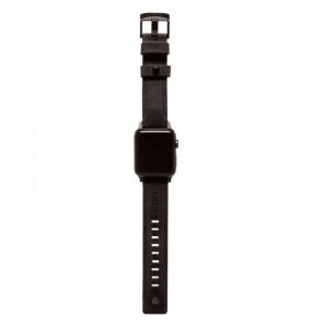 UAG Leather Strap, black - Watch 44/42 mm