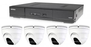 Kamerový set 1x AVTECH DVR DGD1005AV a 4x 5MPX Dome kamera AVTECH DGC5205TSE + 2x napájecí zdroj!