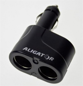 Adapter CL Aligator - rozdvojka 2x USB