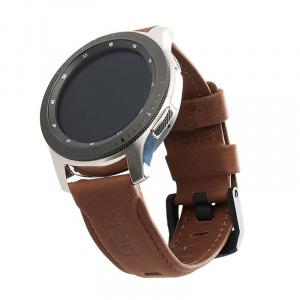 UAG Leather Strap, brown - Galaxy Watch 46mm