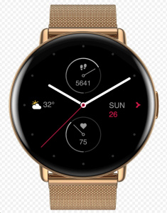 Amazfit ZEPP E(ROUND) Champagne Gold Special Edition
