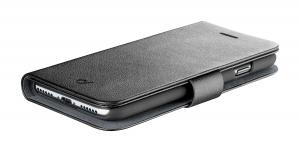 Pouzdro typu kniha CellularLine Book Agenda pro Apple iPhone 11, černé