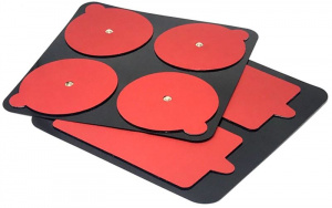 PowerDot Replacement Pads Gen 2, red