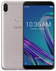 "ASUS Zenfone MAX Pro (ZB602KL-4H084EU) Silver - 6,0"", 8x 1,8GHz, 64GB/4GB, Android 8.1"