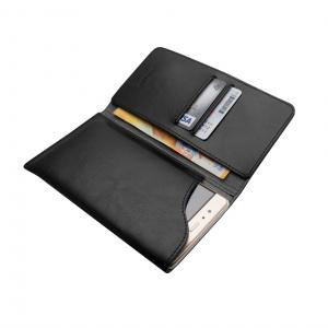 Kožené pouzdro FIXED Pocket Book pro Apple iPhone 6/6S/7/8, černé