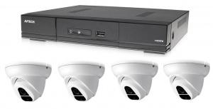 Kamerový set 1x AVTECH DVR DGD1005AV a 4x 2MPX Dome kamera AVTECH DGC1004XFT + 2x napájecí zdroj!