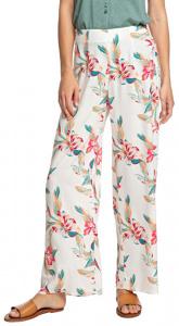 Dámské kalhoty Beside Me Snow White Tropic Call ERJNP03287-WBK7