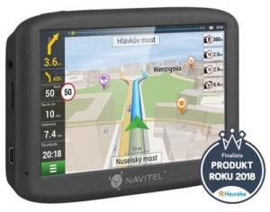 """navigace GPS do auta Navitel MS400, 5"""" offline mapy, 3D, LIFETIME (ČR,SK, 12 zemí)"""