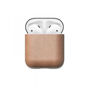 Nomad Leather case, natural - AirPods