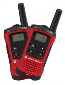 Vysílačka Motorola TLKR T40 Červená