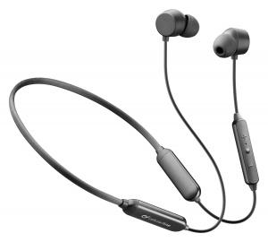 Bezdrátová In-ear sluchátka CellularLine Neckband Flexible s dlouhou výdrží, Bluetooth, černá