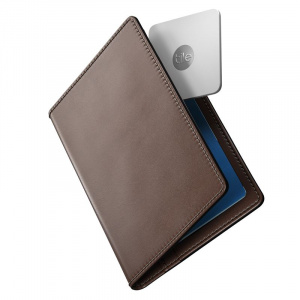 Nomad Passport Wallet Traditional with Tile, brown