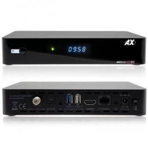 OPTICUM AX HD60 4K UHD, ENIGMA2 , DVB-S2X , CA