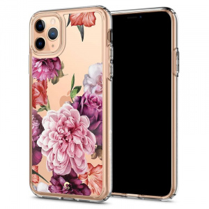Spigen Ciel Cecile, rose floral - iPhone 11 Pro