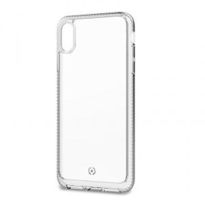 Zadní kryt CELLY Hexalite pro Apple iPhone XS Max, bílý