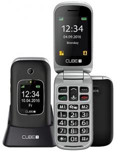 CUBE1 VF300 Black (singleSIM) véčko