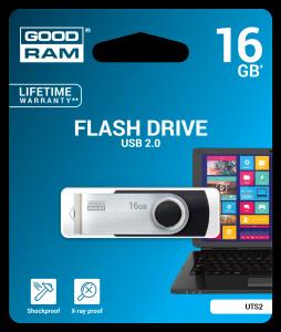 GOODRAM TWISTER USB 3.0 FLASH DISK 32GB - UTS3-0320K0R11
