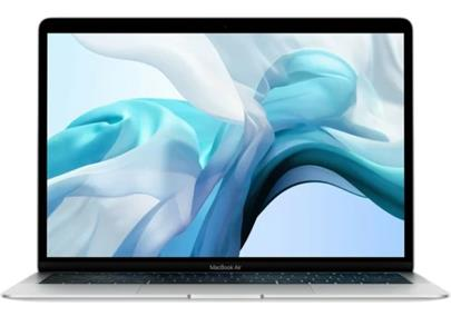 Notebook Apple MacBook Air 13,3'' Silver i5 1.6GHz, 8GB, 128GB, Intel UHD Graphic 617, macOS, CZ (2019)