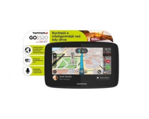 navigace GPS TomTom GO 520 World, Wi-Fi, LIFETIME mapy