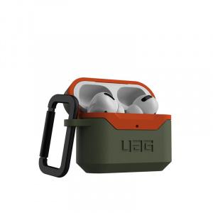 UAG Hard case, olive/orange - AirPods Pro