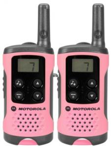 Vysílačka Motorola TLKR T41 Růžová