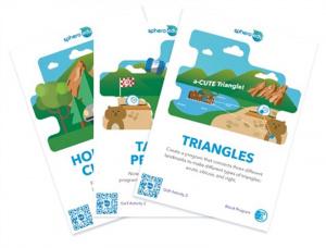 Sphero Activity card Set 3 pack - British English
