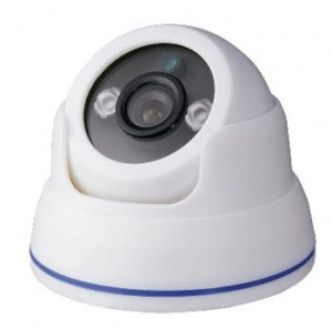 DI-WAY Analogová vnitřní IR Dome kamera  900TVL, 3,6mm, 2xArray, 30m