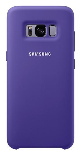 Samsung Silikonové pouzdro EF-PG955TVE pro Galaxy S8+ Violet