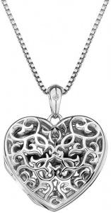 Přívěsek Hot Diamonds Small Heart Filigree Locket DP671
