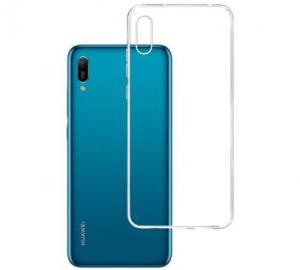 Kryt ochranný 3mk Clear Case pro Huawei Y6 2019, Honor 8A, čirý
