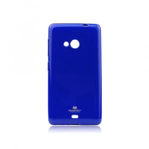 Pouzdro MERCURY Jelly Case Nokia 3.1, 3 (2018) tmavě modrá