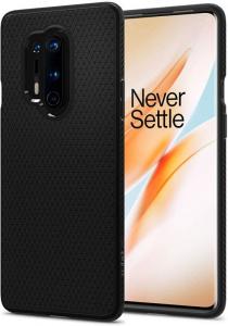 Spigen Liquid Air, black - OnePlus 8 Pro
