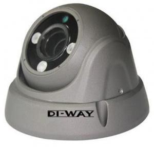 DI-WAY AHD anti-vandal venkovní dome IR kamera 1080P,4-9 mm, 30 m, 4in1 AHD/TVI/CVI/CVBS