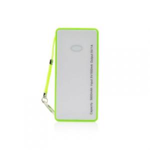 Externí baterie POWER BANK BLUN ST-508, 5600mAh zelená