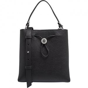 Dámská kabelka Th Core Mini Bucket Black