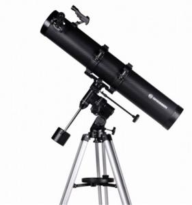 Bresser Galaxia 114/900 Telescope, w/smartphone ad