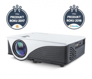 projektor multifunkční LED Forever MLP-100 s OS Android a Wi-Fi, HDMI/USB/SD/AV