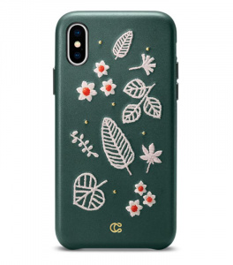 CYRILL Portland case, forest green - iPhone XS Max