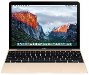 Notebook Apple MacBook 12'' Core i5 1.3GHz, 8GB, 512GB, (2017) CZ, Gold