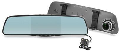 """Kamera Navitel MR250 NV Black - kamera do auta + zadní, 5"""" FullHD, 85°, zadní 180°, G-sen."""