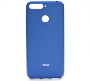 Kryt ochranný Roar Colorful Jelly pro Huawei Y6 2019, Honor 8A, modrá