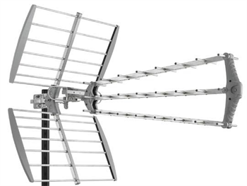 DVB-T/2 anténa FUBA DAT 912 LTE-5G, 27 prvků, zisk 16,5dB