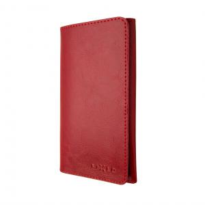 Kožené pouzdro FIXED Pocket Book pro Apple iPhone XR, červené
