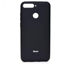 Kryt ochranný Roar Colorful Jelly pro Huawei Y6 2019, Honor 8A, černá