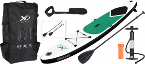 Paddleboard XQ MAX SUP 320 - GREEN SEAGLASS SET