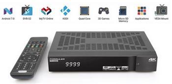 FORMULER S TURBO DVB-S2 CA CI 4K Ultra HD H.265 HEVC