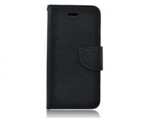 Pouzdro typu kniha pro Nokia 6, černá (BULK)