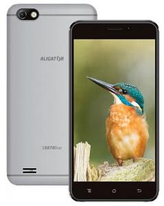 Aligátor S5070 DUO Silver (dualSIM) 16GB/1GB